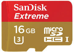 Sandisk Extreme 16GB SDSQXNE-016G-GN6MA (90MB/s) MicroSDHC Memory Card