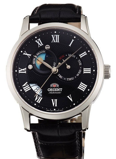 Orient Moon Face Automatic SET0T002B0 (FET0T002B0, ET0T002B) Watch (New with Tags)