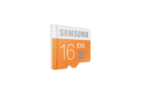 Samsung T-Flash Evo 16GB MicroSDHC Class 10 (MB-MP16DA) Memory Card with Adapter