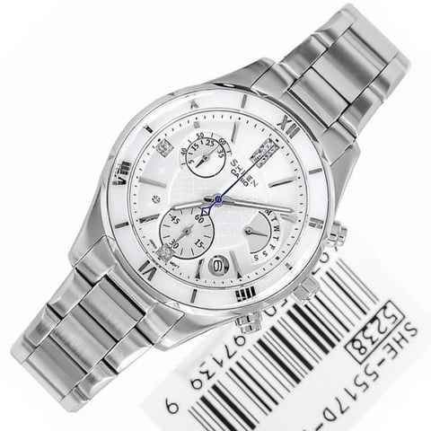Casio Sheen Cruise Line SHE-5517D-7A Watch (New with Tags)