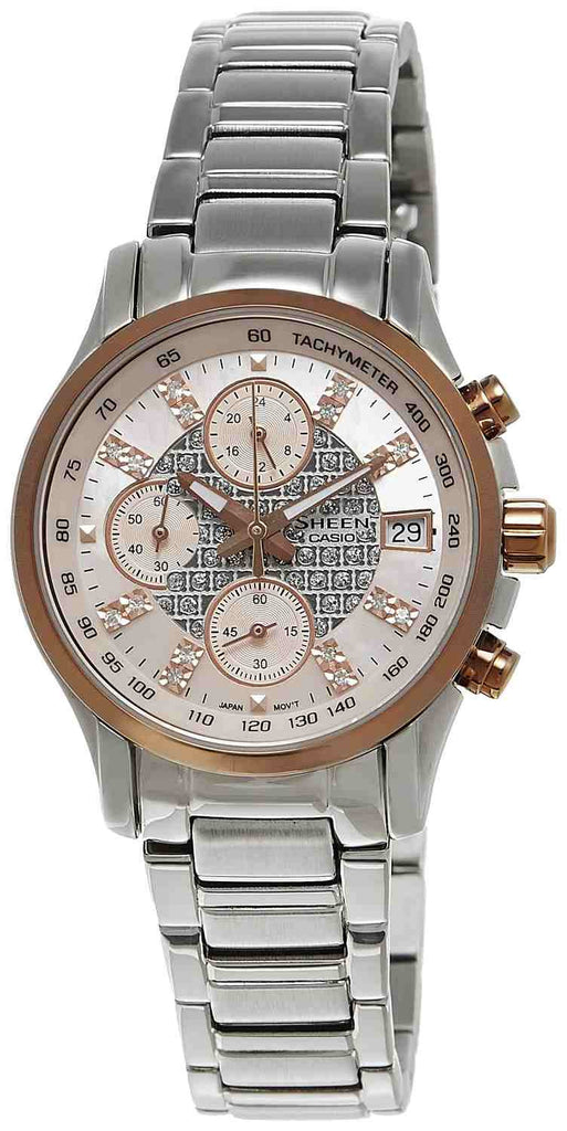 Casio Sheen Chronograph SHN-5016D-4A Watch (New with Tags)