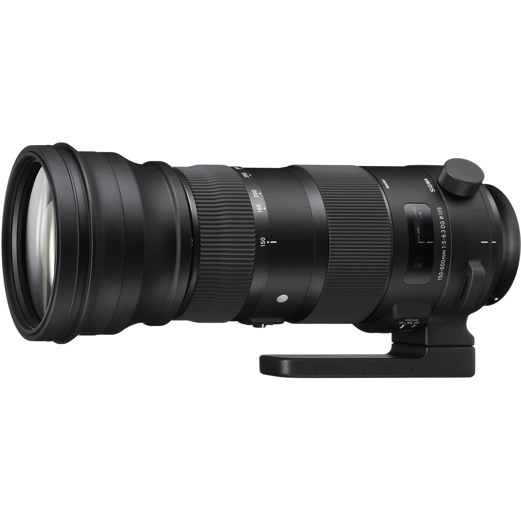Sigma 150-600mm f5-6.3 DG OS HSM Sports Lens (Canon)