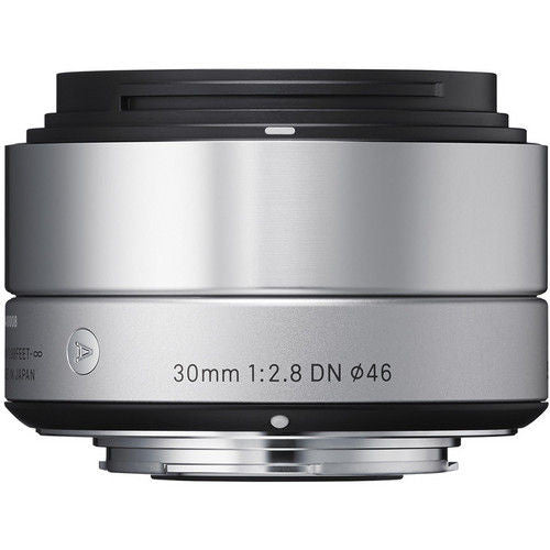 Sigma 30mm f/2.8 DN (M3/4-mount) Silver Lens