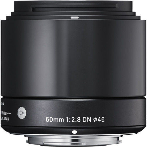 Sigma 60mm f/2.8 DN (M3/4-mount) Black Lens