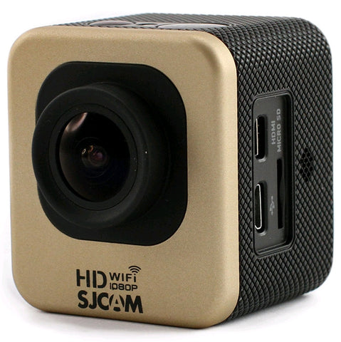 SJCAM M10 Cube Mini WiFi 1080p Full HD Action Sport Camera Gold