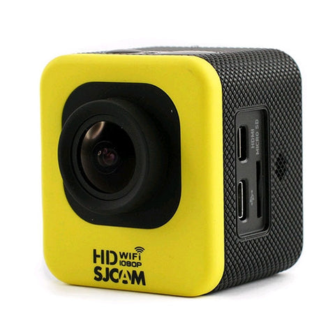 SJCAM M10 Cube Mini WiFi 1080p Full HD Action Sport Camera Yellow