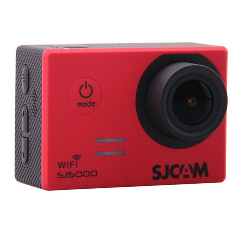 SJCAM SJ5000 WiFi 1080p Full HD DVR Action Sport Camera Red