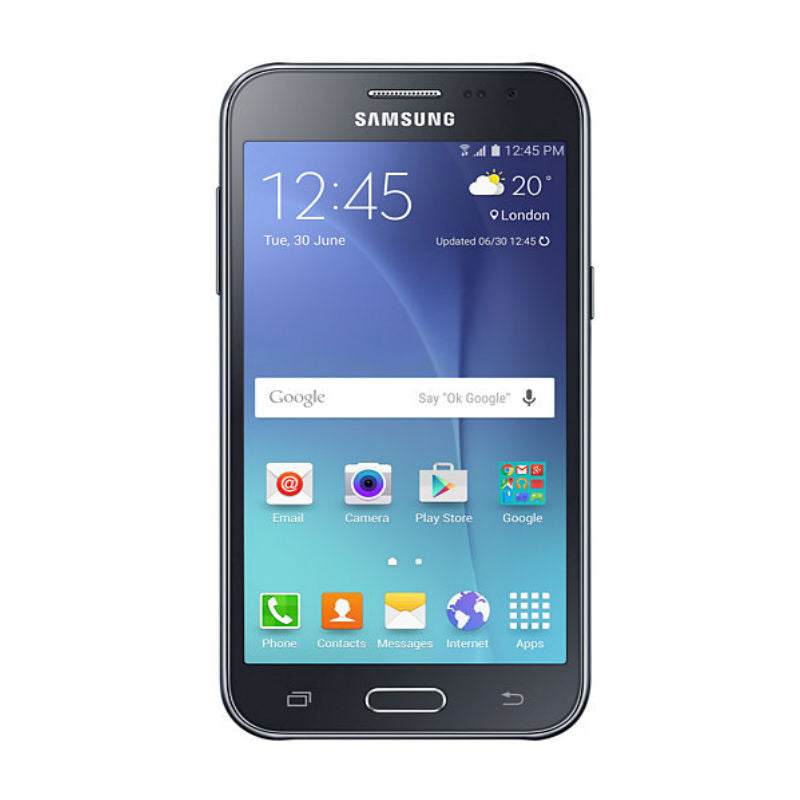 Samsung Galaxy J2 Duos 8GB 3G Black (SM-J200H/DS) Unlocked