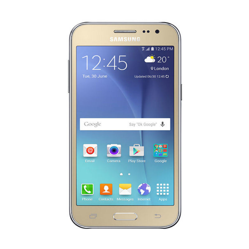 Samsung Galaxy J2 Duos 8GB 3G Gold (SM-J200H/DS) Unlocked