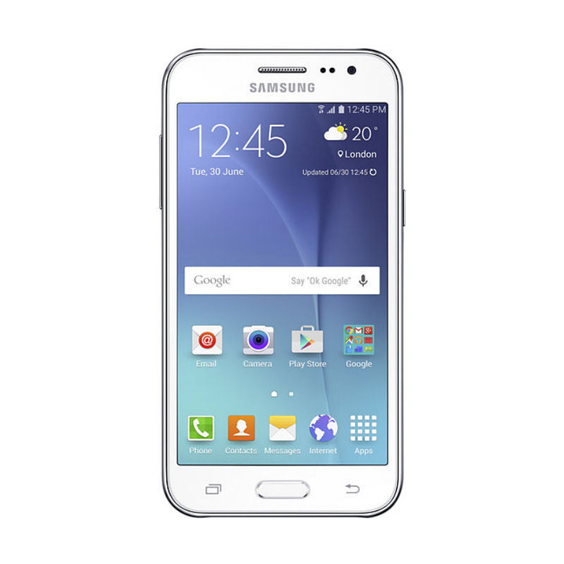 Samsung Galaxy J2 Duos 8GB 3G White (SM-J200H/DS) Unlocked
