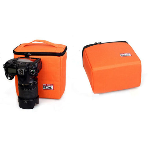 Camera Bag Small for Canon 700D 5D3 60D 70D (Orange)