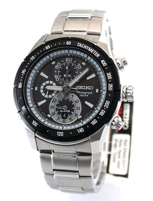 Seiko Sports Chronograph Quartz SNAC89P1 Watch (New with Tags)