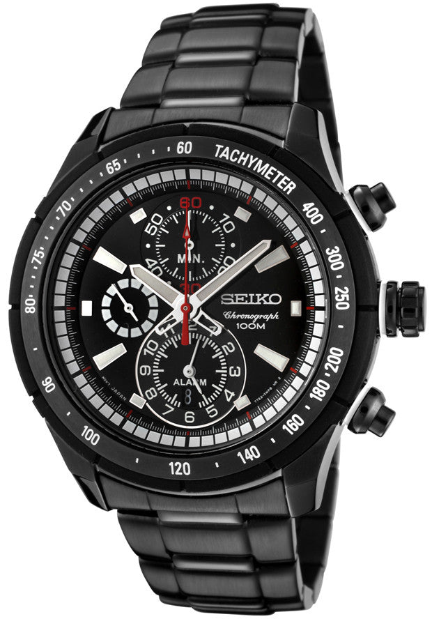 Seiko Sports Chronograph Quartz SNAC91P1 Watch (New with Tags)