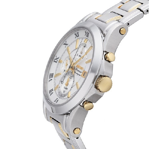 Seiko Premier Chronograph SNAD28 Watch (New with Tags)