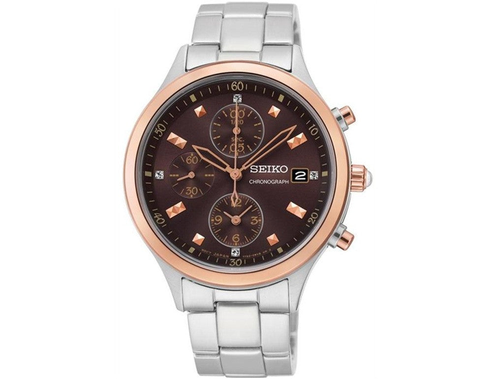 Seiko Quartz Chronograph SNDX06 Watch (New with Tags)