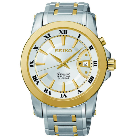 Seiko Premier Perpetual Calendar SNQ142P1 Watch (New With Tags)