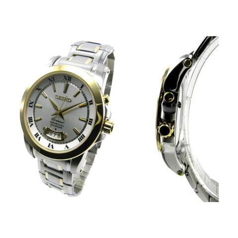 Seiko Premier Perpetual SNQ148 Watch (New with tags)