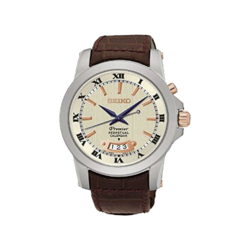 Seiko Premier Perpetual SNQ150 Watch (New with Tags)