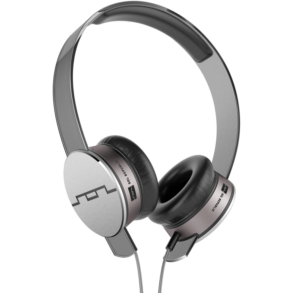 SOL Republic Tracks HD On-Ear Headphones (Grey)
