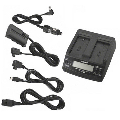 Sony ACVQ1051D Dual Travel Charger for L series Batteries
