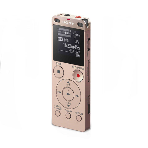 Sony Digital Voice Recorder with Built-in USB ICD-UX560F/NCE (Gold)