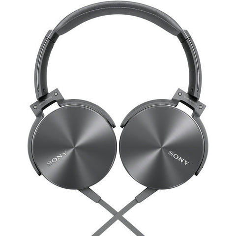 Sony MDR-XB950APHCE Extra Bass Smartphone-capable Headphones Gray