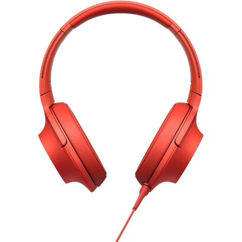 Sony H.Ear on Premium Hi-Res Stereo Headphones MDR-100A RCE (Cinnabar Red)