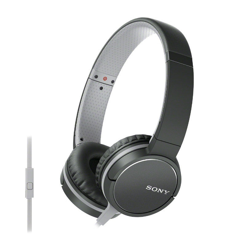 Sony Lightweight Headphone with Smartphone Control MDR-ZX660AP (Black)