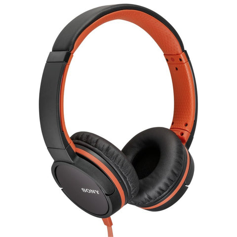Sony MDR-ZX660AP Headphone with Smartphone Control (Orange)