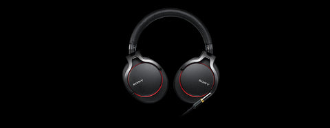 Sony MDR-1A Premium High-Resolution Stereo Black Headphones
