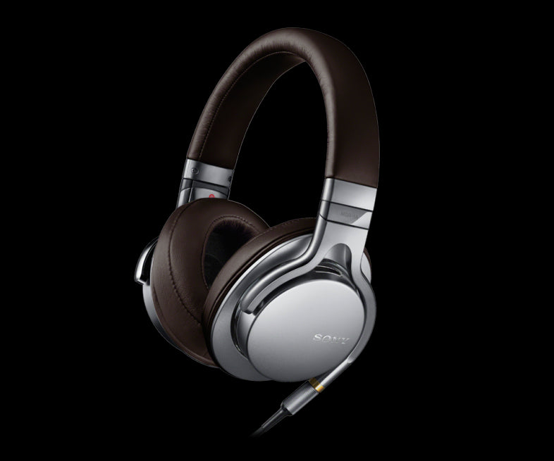 Sony MDR-1A Premium High-Resolution Stereo Silver Headphones