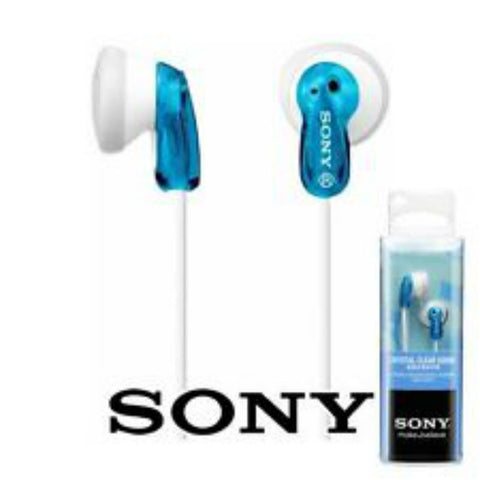 Sony MDR-E9LP In-Ear Headphones (Blue)