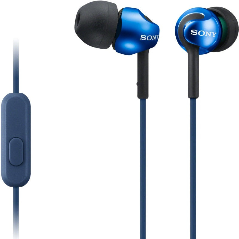 Sony MDR-EX110LP In-Earphone (Blue)