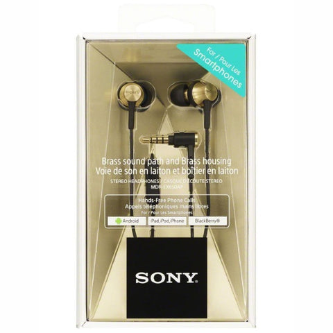 SONY MDR-EX650 T Inner ear Headphones (Brass Brown)