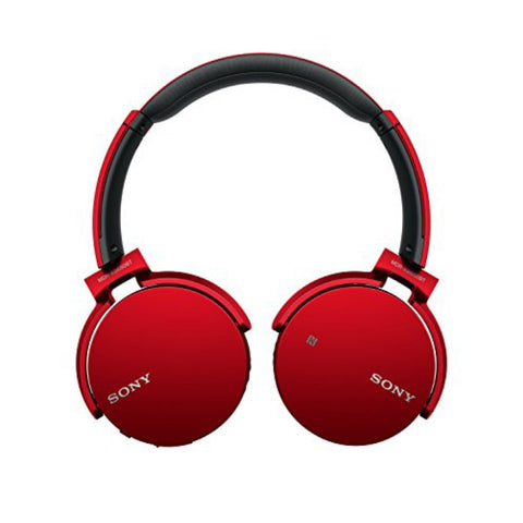 Sony MDR-XB650BT EXTRABASS Bluetooth Headphones (Red)