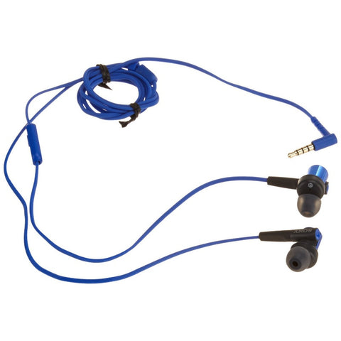 Sony MDRXB50AP Extra Bass Earbud Headset (Blue)