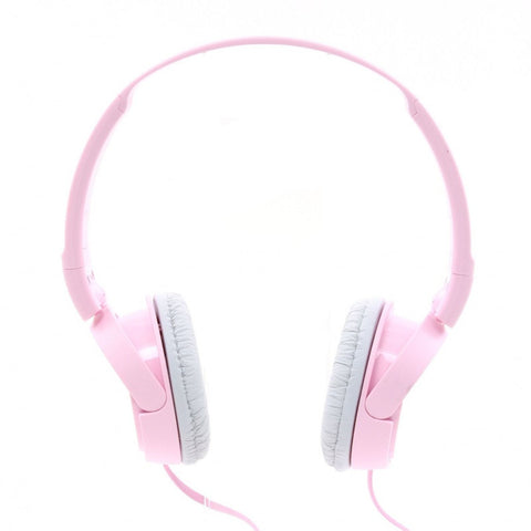 Sony MDRZX110AP ZX Series Extra Bass Smartphone Headset with Mic (Pink)