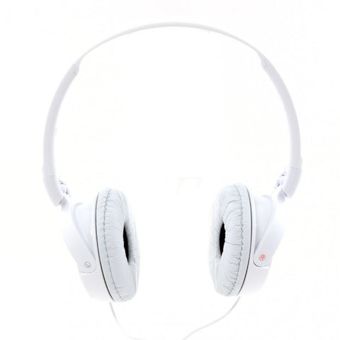 Sony MDRZX110A ZX Series Extra Bass Smartphone Headset with Mic (White)
