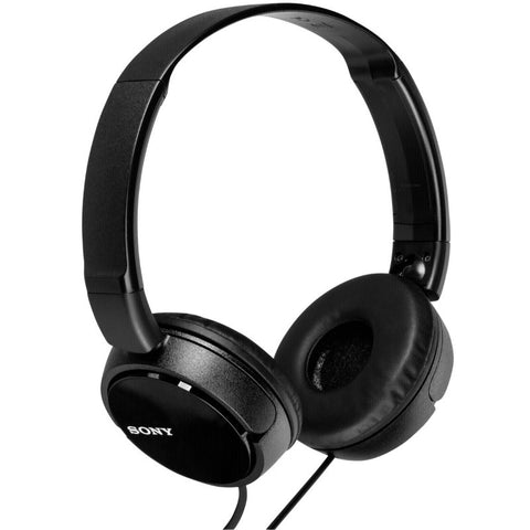 Sony MDRZX310 Foldable Headphones (Metallic Black)