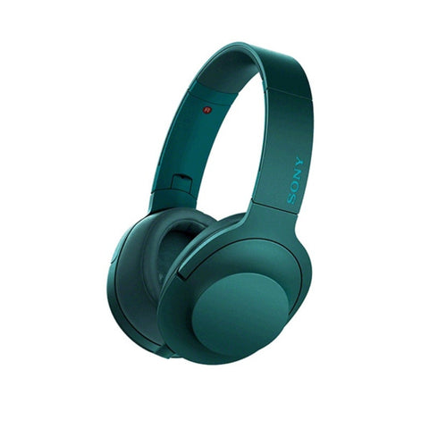 Sony Wireless Noise Canceling Stereo Headset MDR-100ABN / L (Viridian Blue)