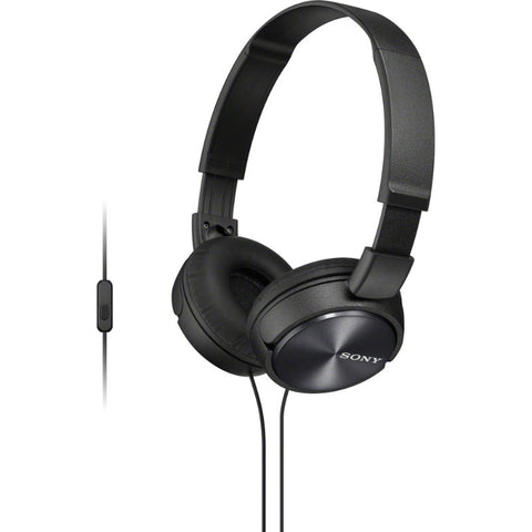 Sony ZX Series MDR-ZX310AP Headband Stereo Headset (Black)