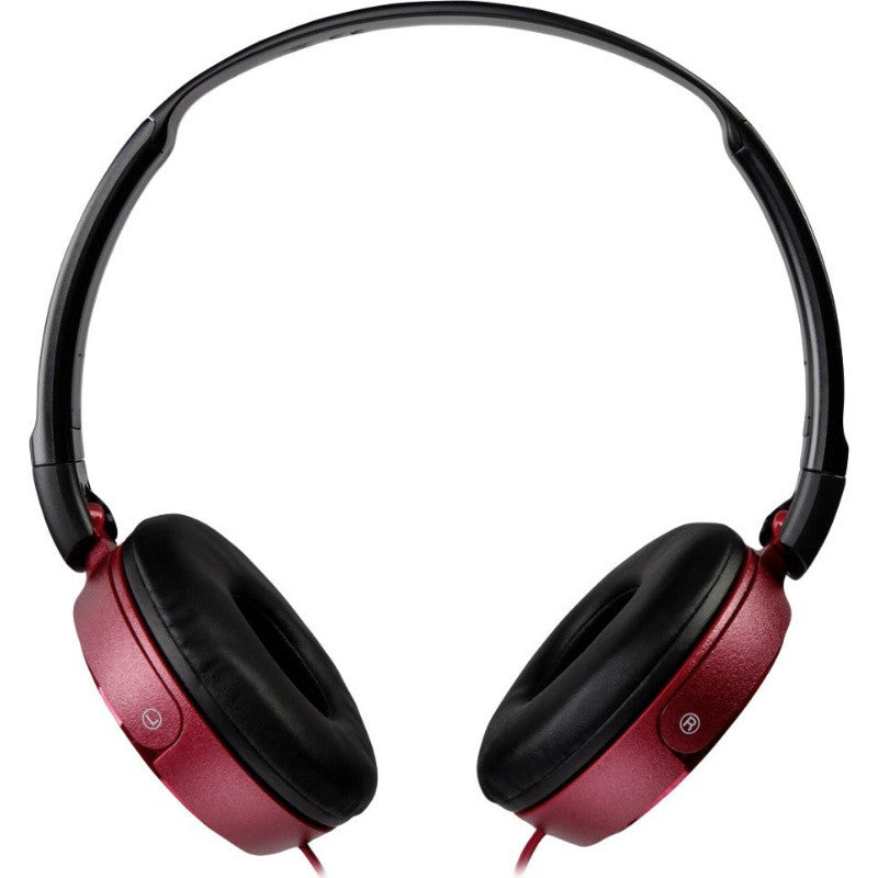 Sony ZX Series MDR-ZX310AP Headband Stereo Headset (Red)