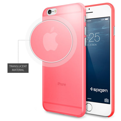 Spigen Air Skin Series Case for IPhone 6 (4.7 inches) Azalea Pink