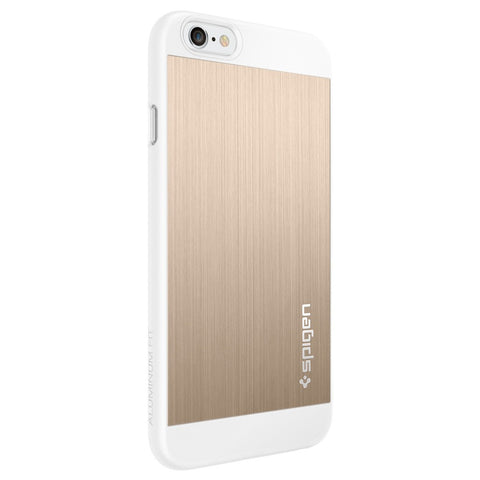 Spigen Aluminum Fit Series Case for IPhone 6 Champagne Gold
