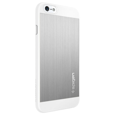 Spigen Aluminum Fit Series Case for IPhone 6 (4.7 inches) Satin Silver