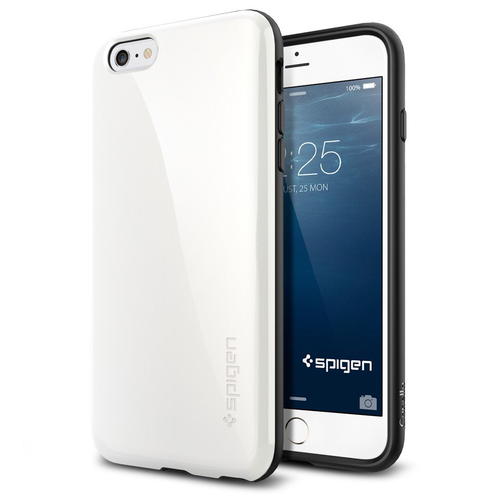 Spigen Capella Series Case for IPhone 6 Plus (5.5 inches) Shimmery White