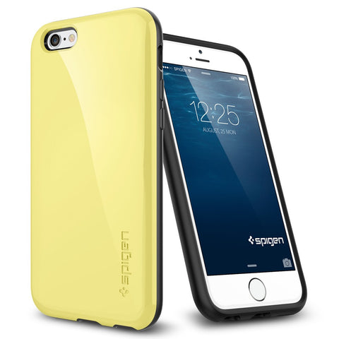 Spigen Capella Series Case for IPhone 6 (4.7 inches) Lemon Yellow