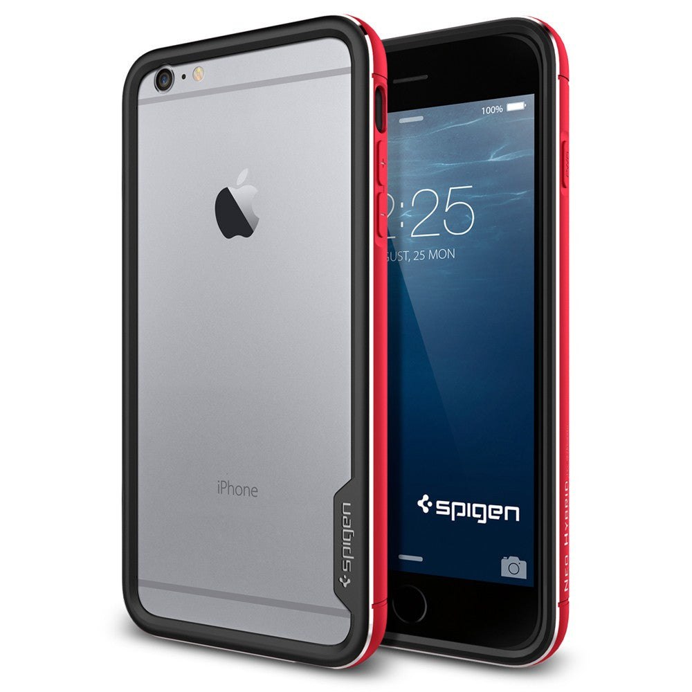 Spigen Neo Hybrid EX Metal Series Case for IPhone 6 Plus (5.5 inches) Metal Red