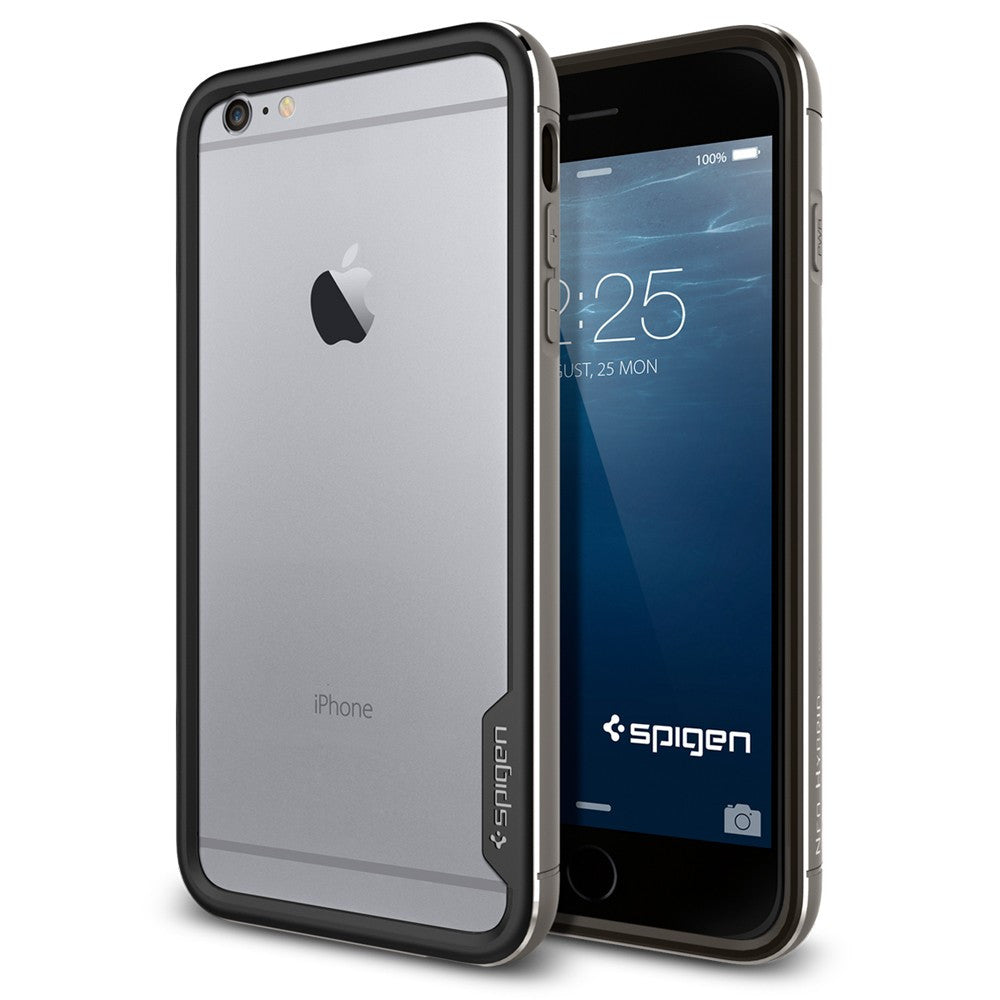 Spigen Neo Hybrid EX Metal Series Case for IPhone 6 Plus (5.5 inches) Space Gray