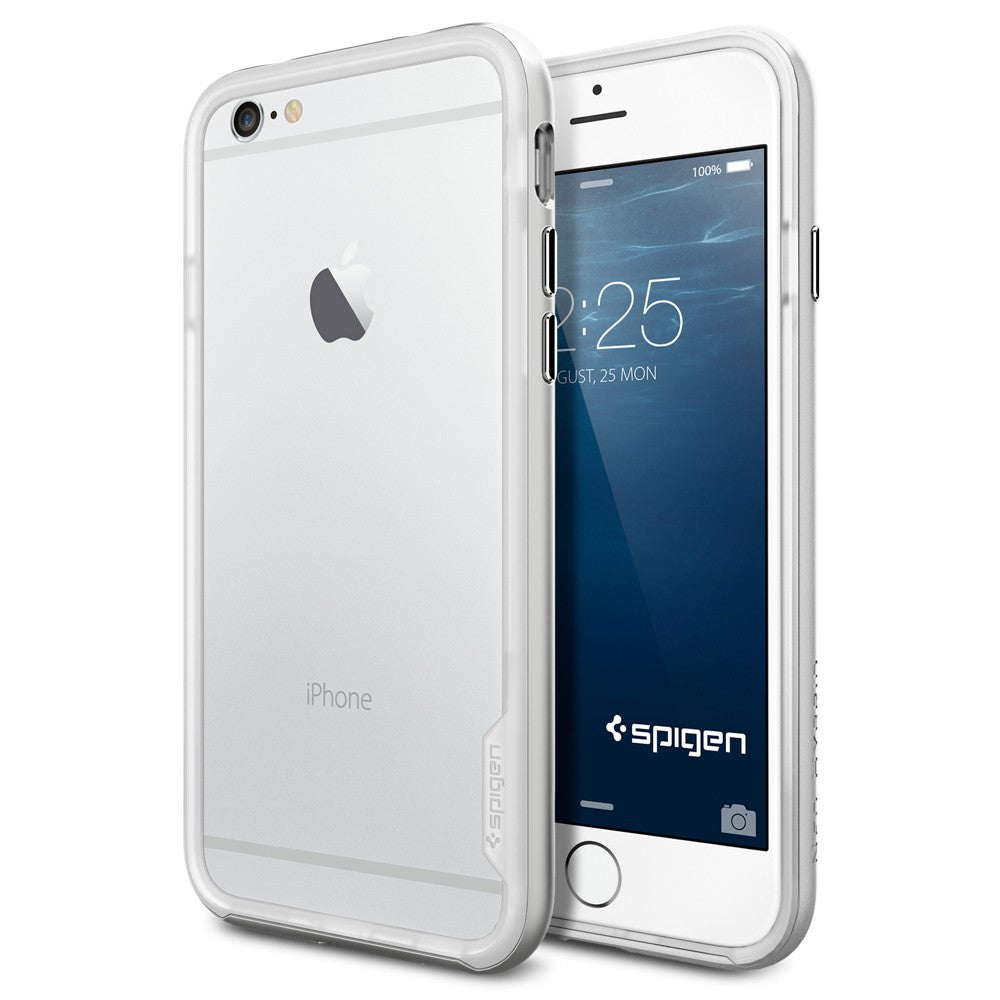 Spigen Neo Hybrid EX Series Case for IPhone 6 (4.7 inches) Satin Silver
